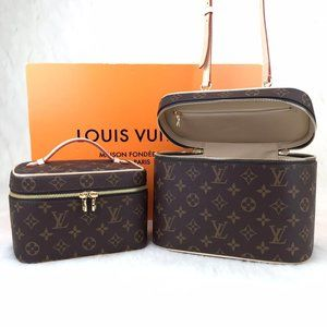 %100 Leather Louis Vuitton Nice BB & Min